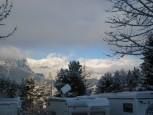 Ausblick vom Alpencamp Garmisch-Partenkirchen