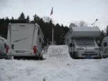 Schneebar am Alpencamp Garmisch-Partenkirchen