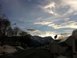 Abendstimmung im Alpencamp Garmisch-Partenkirchen