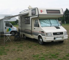 "Mai 2005: Start unserer ""Camper-Karriere"""