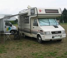 """Mai 2005: Start unserer """"Camper-Karriere"""""""