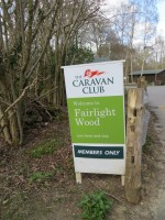 The Caravan Club - Fairlight Wood