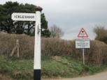 Nebenstrecke bei Icklesham UK