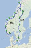 Reiseplanung Skandinavien