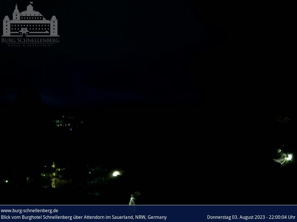Webcam Burg Schnellenberg - Attendorner Geschichten - Stadtmagazin Lokalnachrichten Attendorn